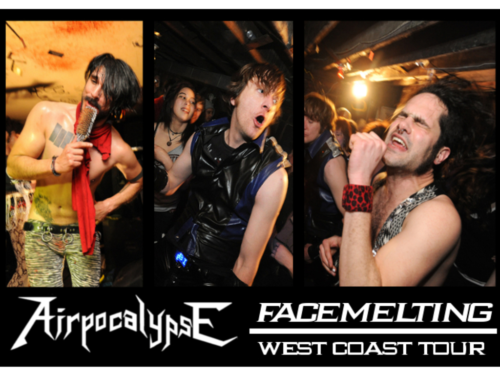 AIRPOCALYPSE: Face-Melting West Coast Tour's video poster