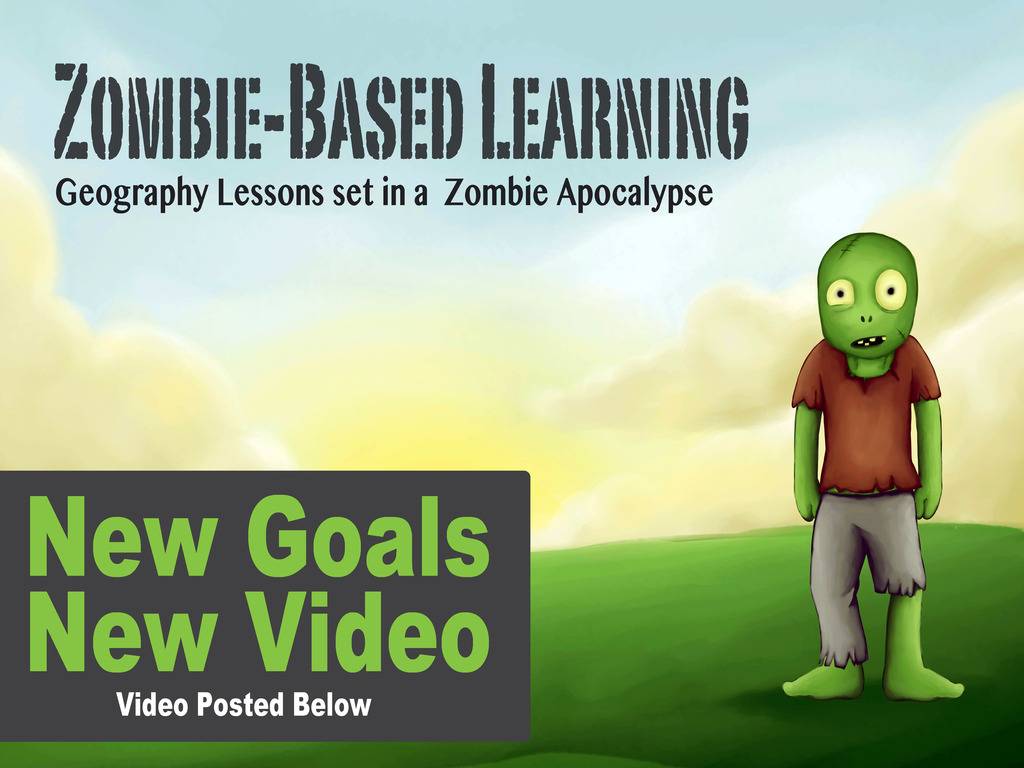 Zombie-Based Learning: Geography taught in Zombie Apocalypse's video poster