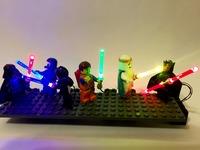 Lego Star Wars Lightup Lightsabers