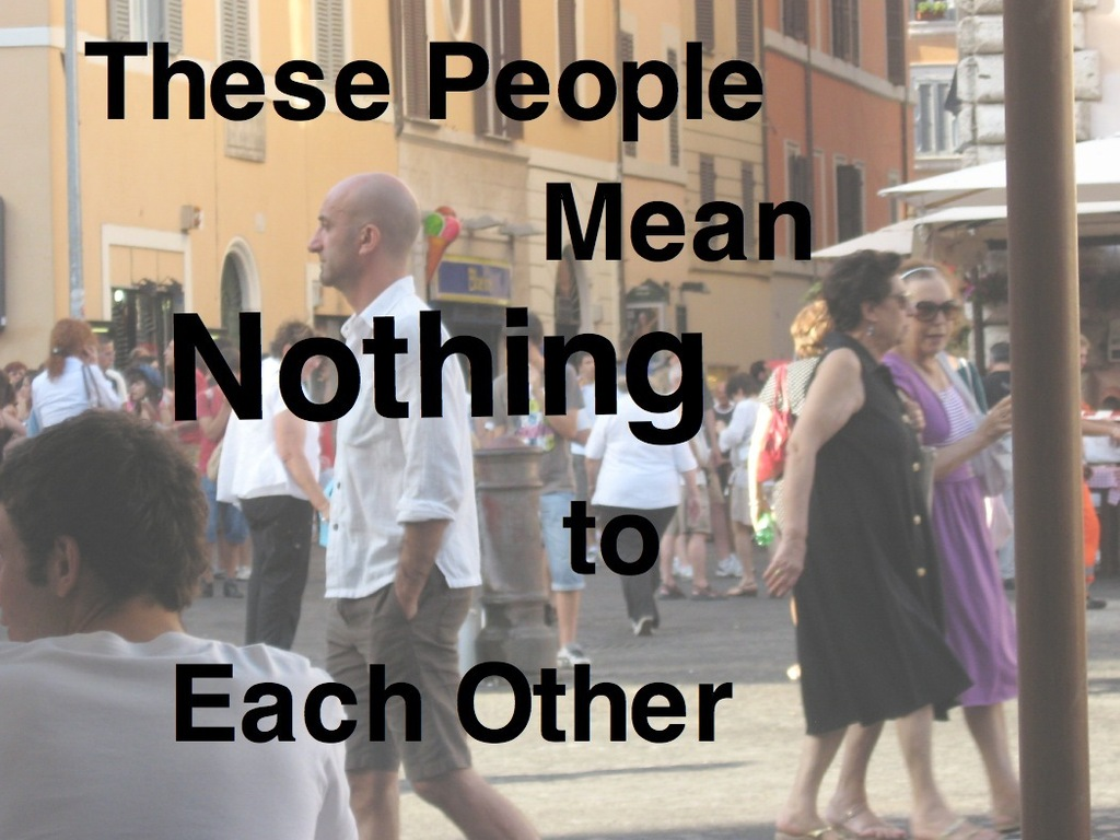 """These People Mean Nothing to Each Other"" - An Eternal Short Story's video poster"
