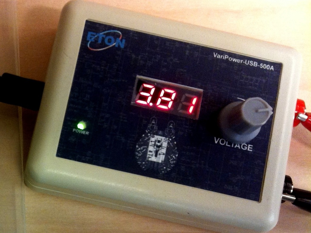 USB Based Variable Power Supply For Small Projects's video poster