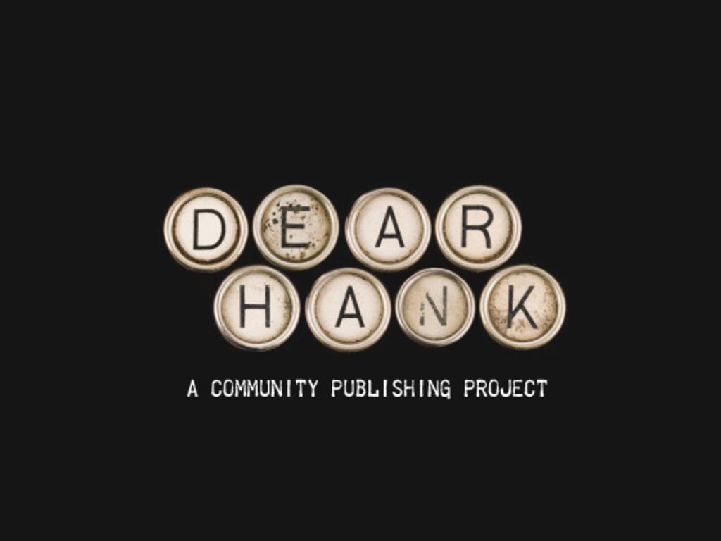 Dear Hank's video poster