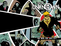 DOC UNKNOWN: THE WAR FOR GATE CITY (a graphic novel)