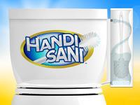 Handi Sani™: The World's First Self-Cleaning Toilet Brush
