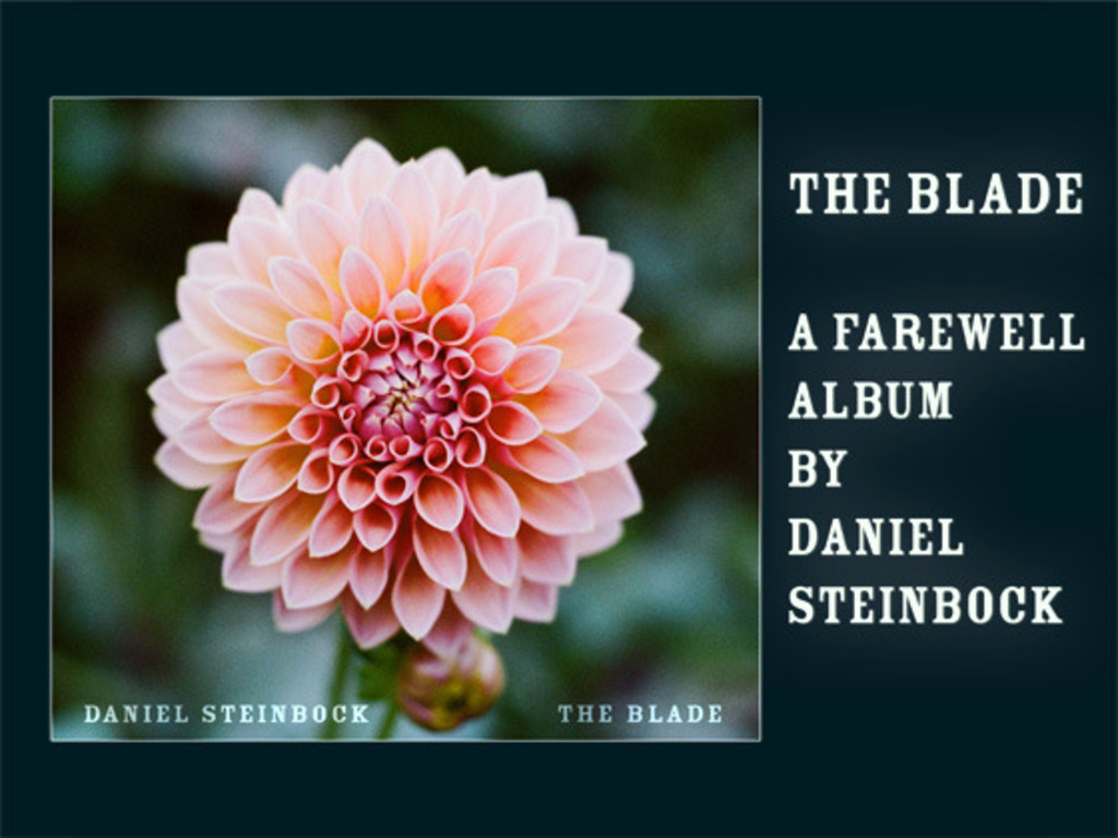 The Blade, a farewell album's video poster