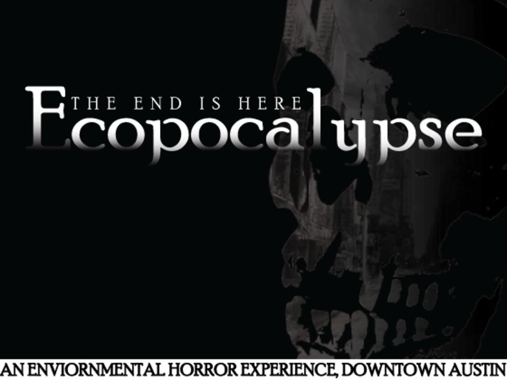 Ecopocalypse - Environmental Horror Experience's video poster