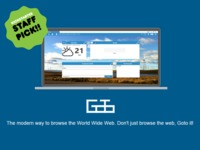 Goto Browser - The modern way to browse the World Wide Web