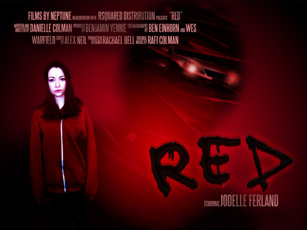 "Films by Neptune's ""Red""'s video poster"