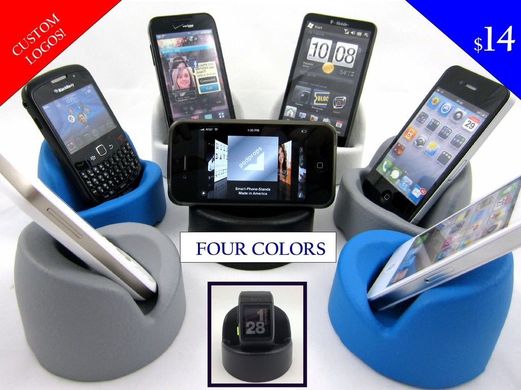 Podprop - USA Made Soft Smartphone Stand  iPhone / Universal's video poster