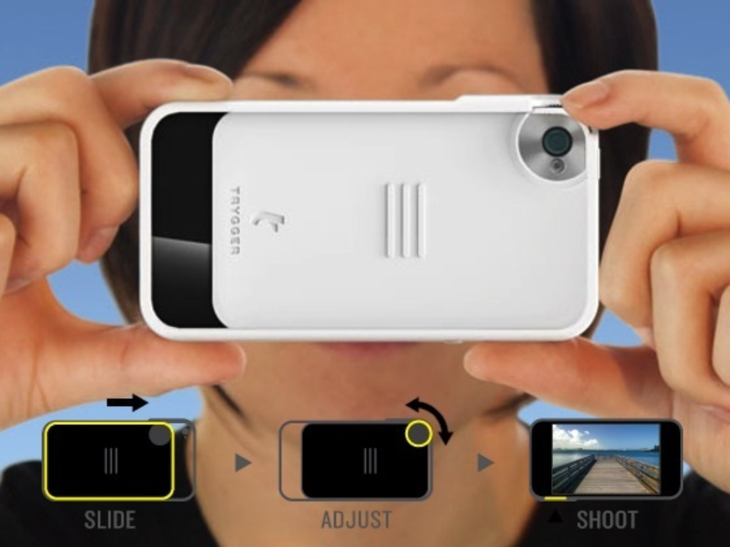 Trygger Camera Case: iPhone 4/4S Polarizing Filter Case's video poster