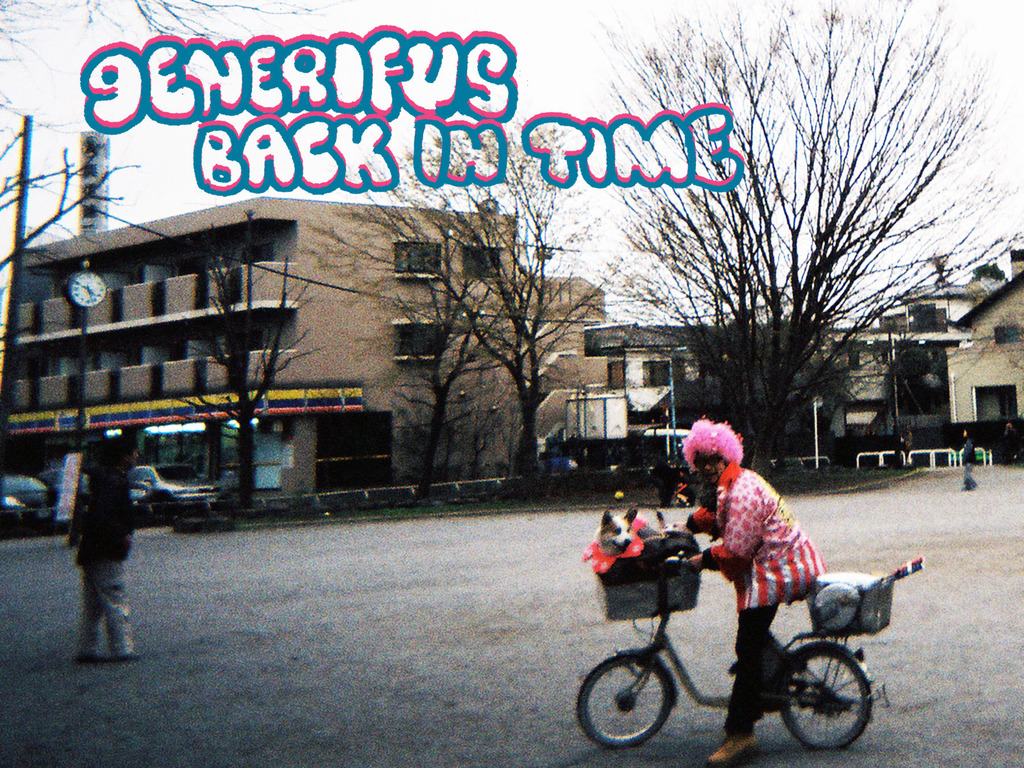 "LP Release of New Generifus Album ""Back in Time""'s video poster"