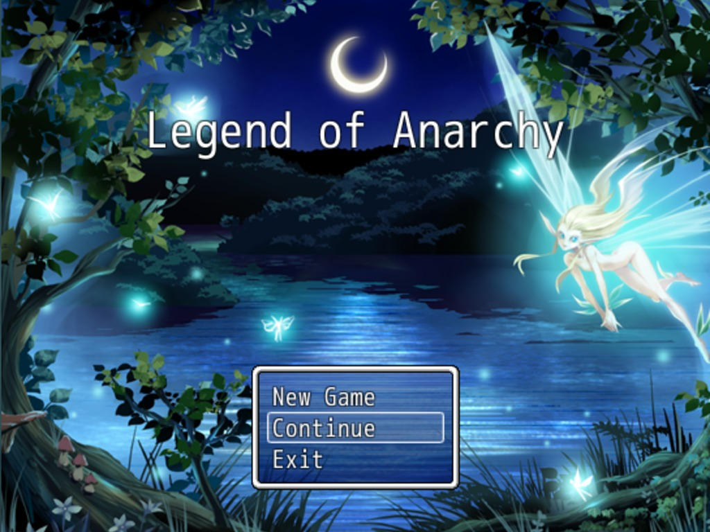 My RPG Game, Legend of Anarchy's video poster
