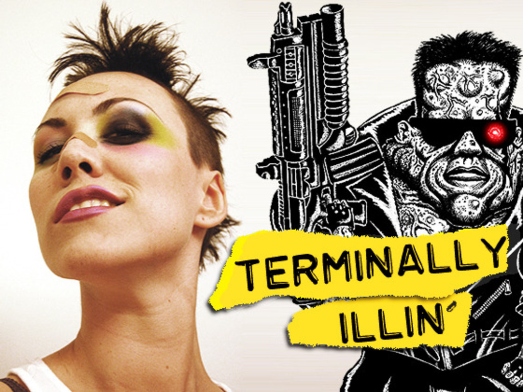 TERMINALLY ILLIN':  World's Awesomest Cancer Comic Book!'s video poster