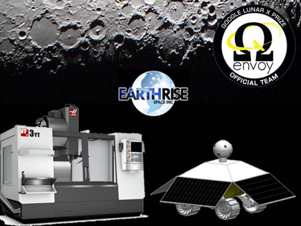 Student Built Lunar Rover Prototype for Google Lunar X PRIZE's video poster