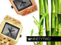 NinetyTwo Bamboo Eco Watches