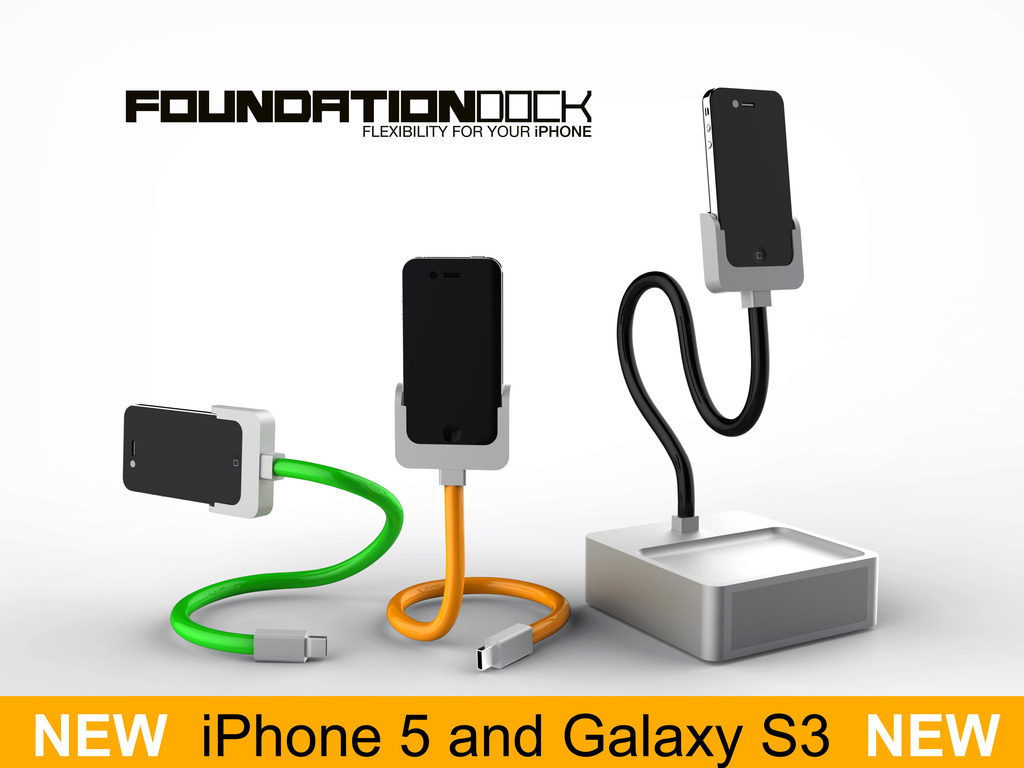Foundation Dock - The new home for your iPhone's video poster
