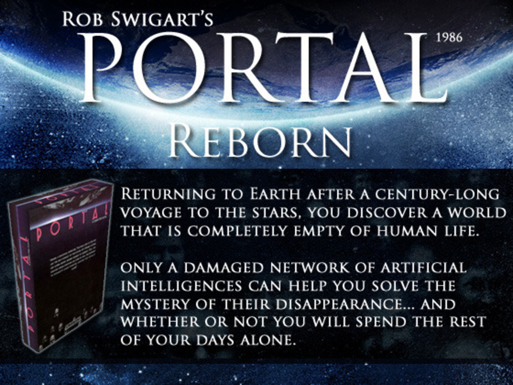 Rob Swigart's Portal (1986) Reborn v2.0 (Canceled)'s video poster
