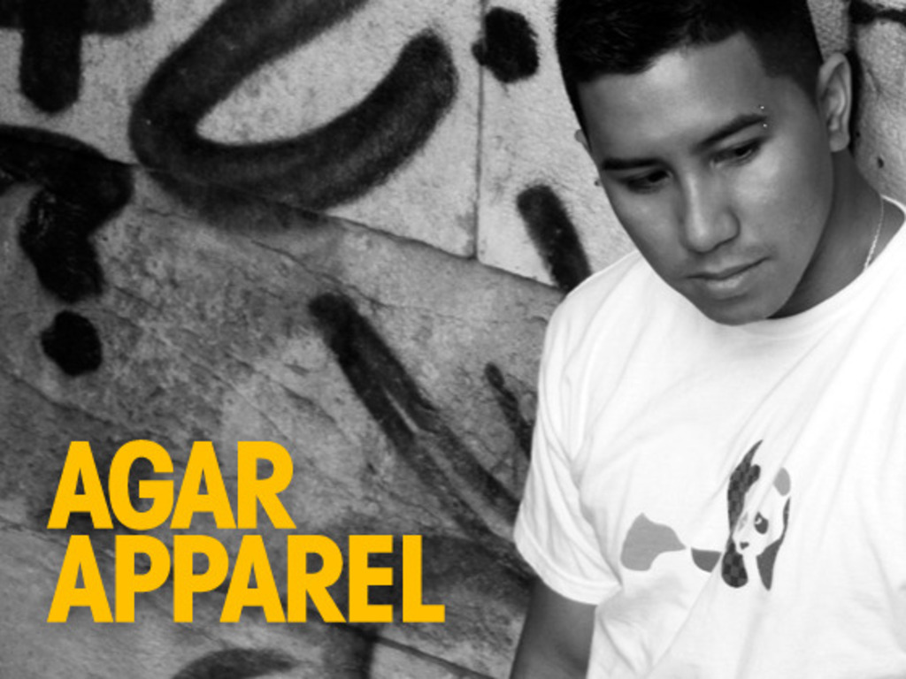 Experimenting like it's college: AGAR Apparel's video poster