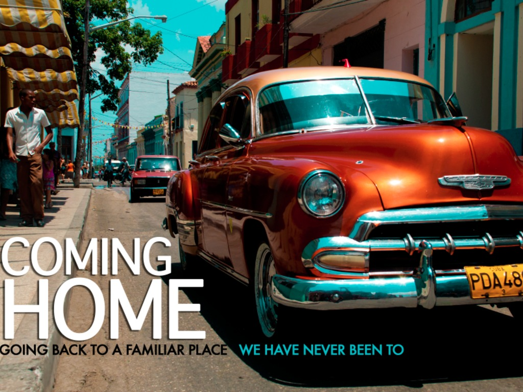 COMING HOME's video poster