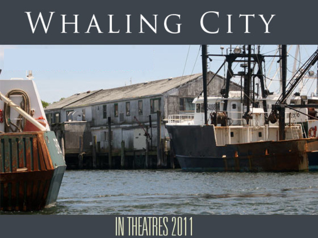 Whaling City, a feature film, Post-Production's video poster