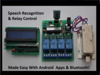 Bluetooth Speech Recognition & Relay Board Modules!