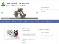 Jax Health Connection Forum and Event Planner