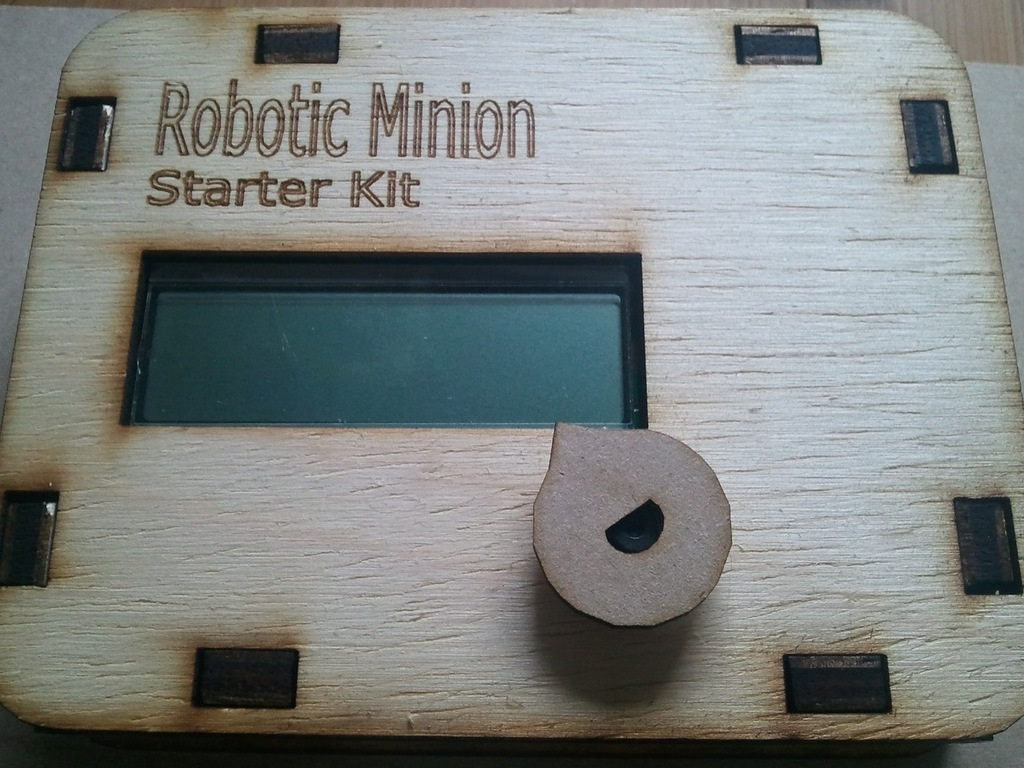 Robotic Minion Start Kit (Arduino Compatible)'s video poster