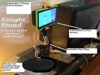 """Knight Stand : """" a device stand for your night stand """""""