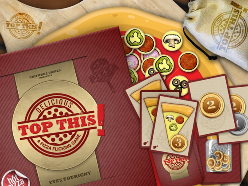Top This! A Pizza Flicking Game's video poster