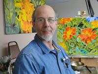 Elevation of Consciousness Meditative Art Oil on canvas