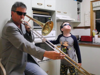 When Mama Isn't Home, the oven kid's very own iTunes single!