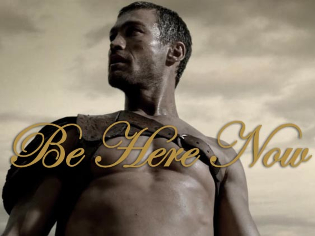 """Be Here Now"" – The Andy Whitfield Story's video poster"