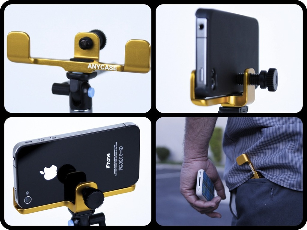 ANYCASE iPhone Tripod Adapter (fits most SmartPhones)'s video poster
