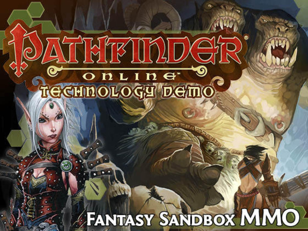 Pathfinder Online Technology Demo's video poster