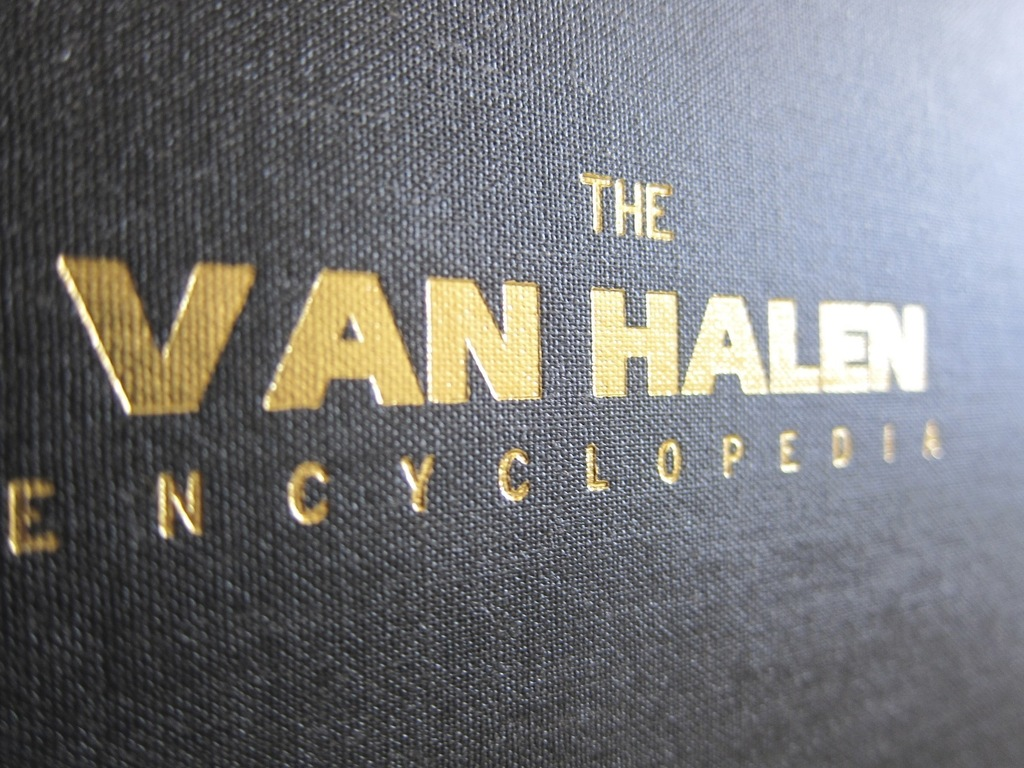 The Van Halen Encyclopedia's video poster