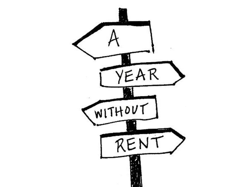 A Year Without Rent's video poster