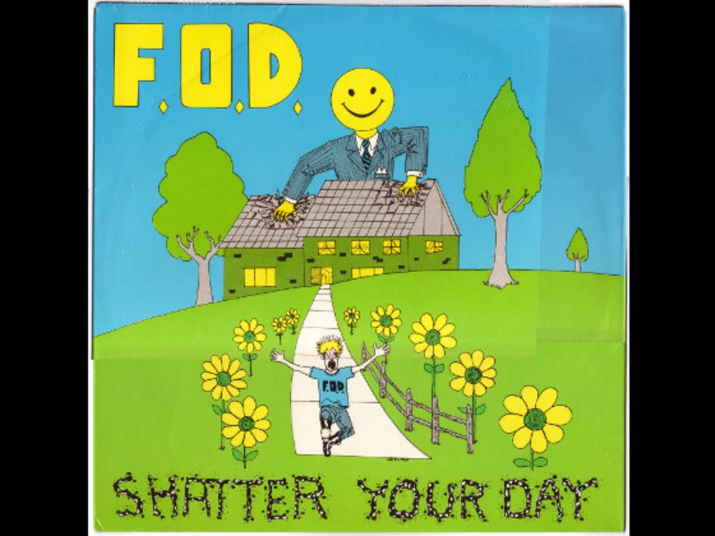 Help Us Re-Release F.O.D.'s Shatter Your Day 2xCD/2xLP/TAPE's video poster