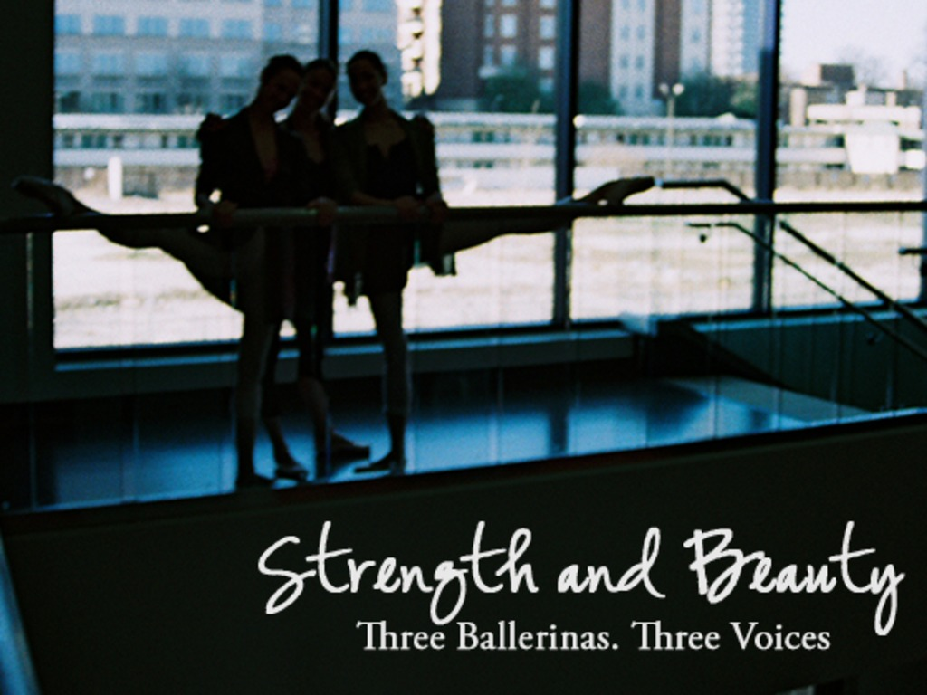 Strength and Beauty: Giving Ballerinas a Voice's video poster