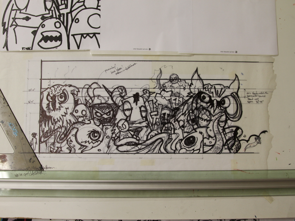 The Others : a mural Project for Oakland's Art Murmur's video poster