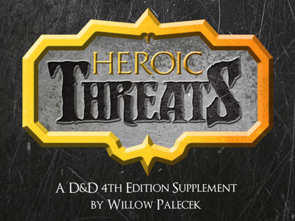 D&D Supplement: Heroic Threats's video poster