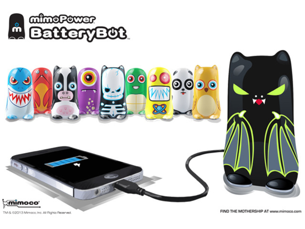 BatteryBot: The Fun Mobile Device Charger with Personality!'s video poster