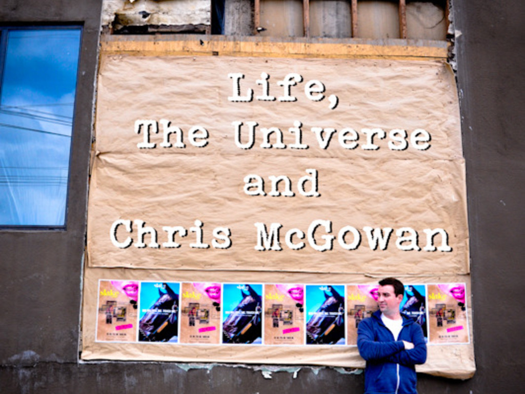 """Help """"Life, The Universe and Chris McGowan""""'s video poster"""