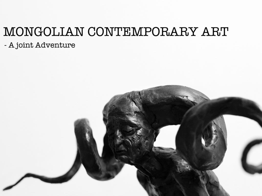 MONGOLIAN CONTEMPORARY ART – A joint adventure's video poster