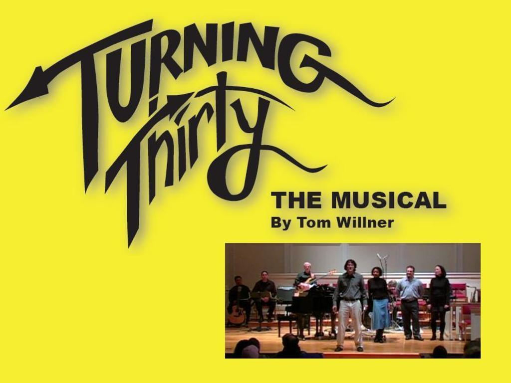 Turning Thirty - A musical about surviving cancer's video poster