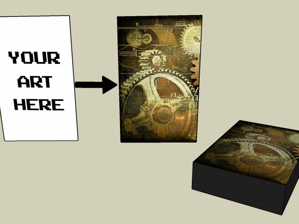 Your Art Card Sleeves: Fully Customized Card Sleeves's video poster