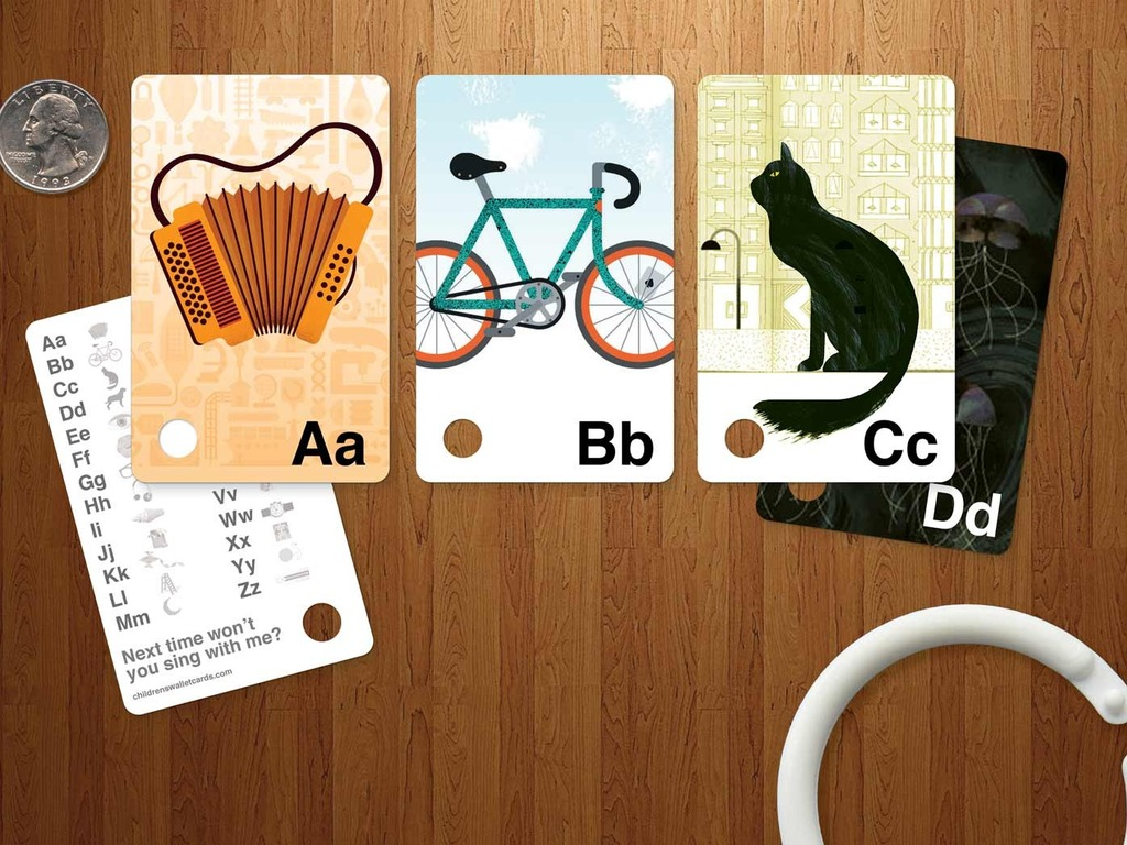 Children's ABC Wallet Cards's video poster