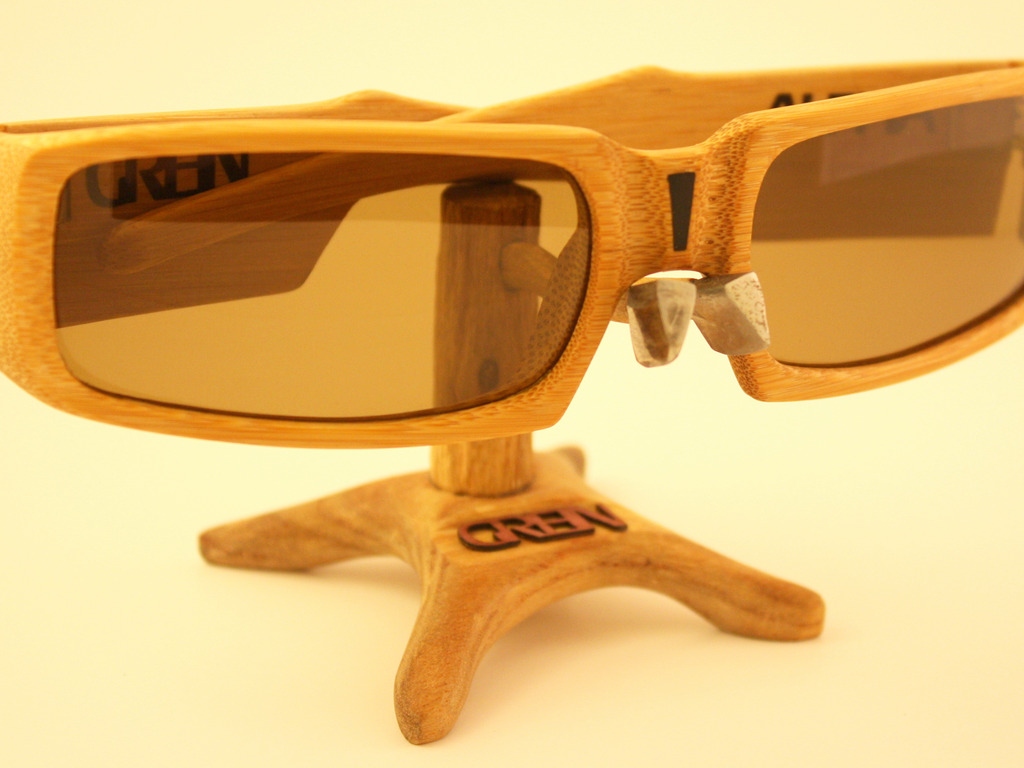 Performance Bamboo Sunglasses by Grein Optics's video poster