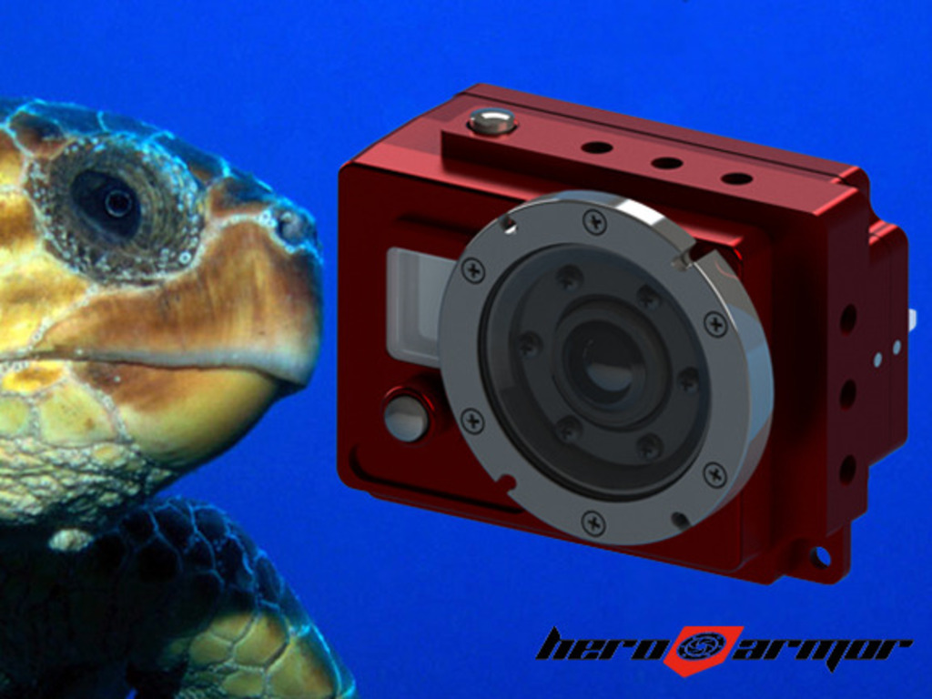 Go Pro underwater housing for the GoPro Hero and Hero2's video poster
