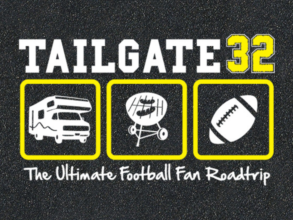 Tailgate32: The Ultimate Football Fan Roadtrip's video poster