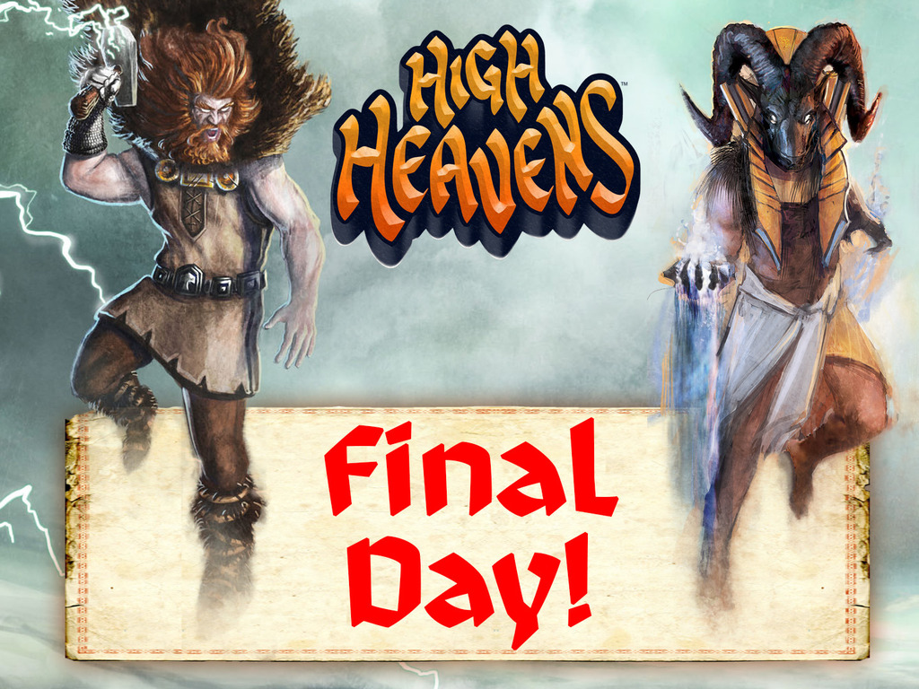 HIGH HEAVENS, the board game where gods battle in the skies!'s video poster